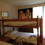 kids loved the bunk bed