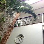 Parte interna do Hotel