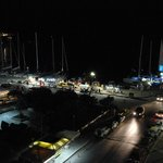 Port are at night