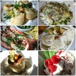 A delicious Sunday pub lunch - great variety & yummy food