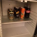 All mini bar soft drinks are free of charge daily has eight refill. Variety of choices include s