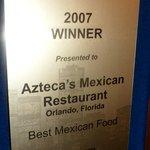 Foto de Azteca's Mexican Restaurant
