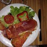Pan con tomate et son jambon serrano