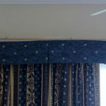 Falling valance, right by where my daughter slept!