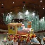 Şekerden trenle hayallere yolculuk
