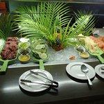 The Palms pastry/bread buffet (breakfast)