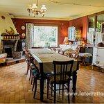 salone con cucina riservato agli ospiti