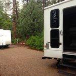 Double campsite