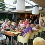 The gang at the mocubar X