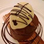 Chocolate Marquise & Malt Ice Cream