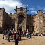 Inside Edinburgh Castle