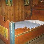 Museo Etnografico di Teodone - Camera da letto nel maso