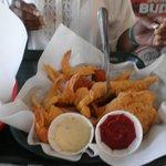 shrimp and catfish basket