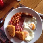 Beautiful breakfast all locally sourced