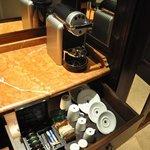 nespresso en chambre