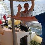 Scoobi Too St Martin - the boat captain