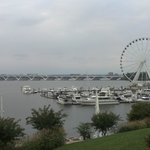 The Capital Wheel at waterfront