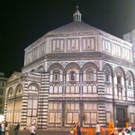 The Baptistry at night