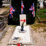 Grave of our brave Lancaster Crew