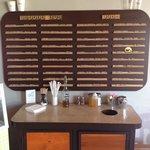 Old Scrabble drinks menu