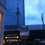 Big hotel tower
