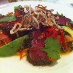 pepper seared tuna - A standout