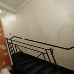 Escadas no quarto