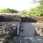 ruins of ancient Hawaiian house