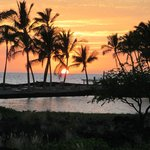 Amazing A Beach sunset