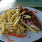 Red Snapper with French Fries