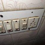 interrupteurs dans la sdb