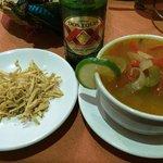 Sopa de Lima.  Plato típico yucateco mega exquisito. mmmmmm!