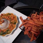 Curry and sweet potato fries