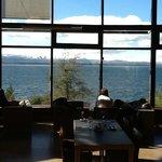 Vista al Lago desde el comedor