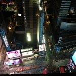 Vista Times Square desde la habitación