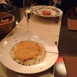 Rissoto de Boletus con parmesano