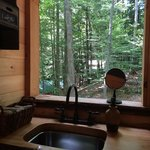 View from the sink in the bathroom!