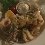 Calamari from the main menu
