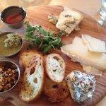Maine cheese board