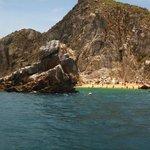 snorkeling near lover's beach