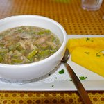 Okra with Fish Soup