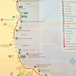 Lake Trail Map (from the hotel)