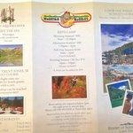 Hotel information sheet