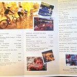 Weekend activities sheet