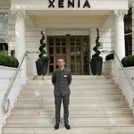 Entrance to Hotel Xenia