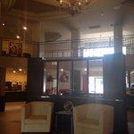 Very nice/modern lobby