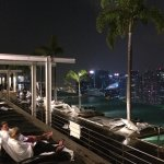 Infinity Pool by night!