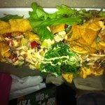 Ahi tuna wonton nachos