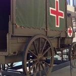 第一次世界大戦時の救急馬車