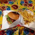 Chicken-tastic crispy chicken burger